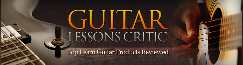 Guitar Lessons Critic header