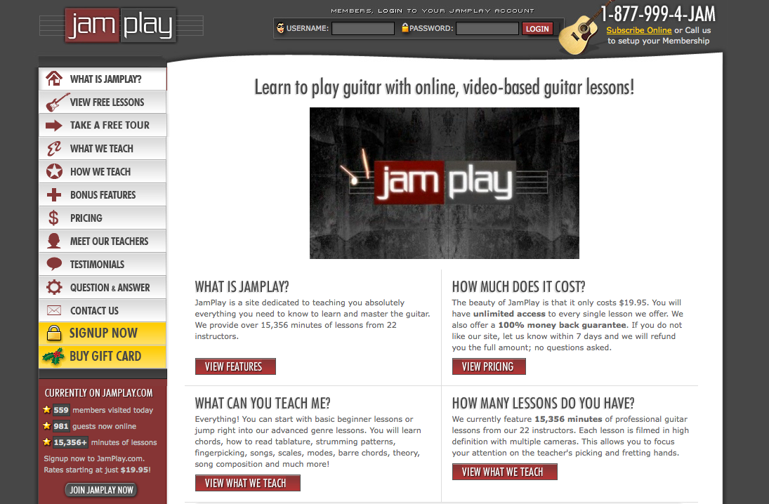 JamPlay screenshot