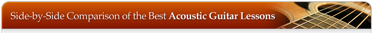 Acoustic Guitar Lessons table
