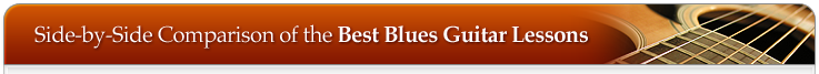 Blues Guitar Lessons table